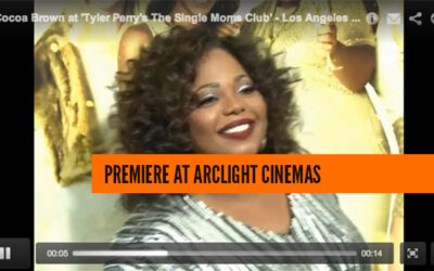 Cocoa Brown at 'Tyler Perry's The Single Moms Club' – Los Angeles Premiere